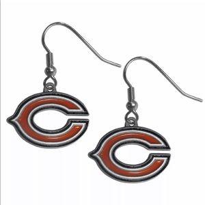 NFL Licensed Chicago Bears Earrings